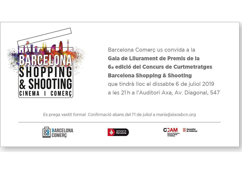 Invitació al esdeveniment Shopping and Shooting